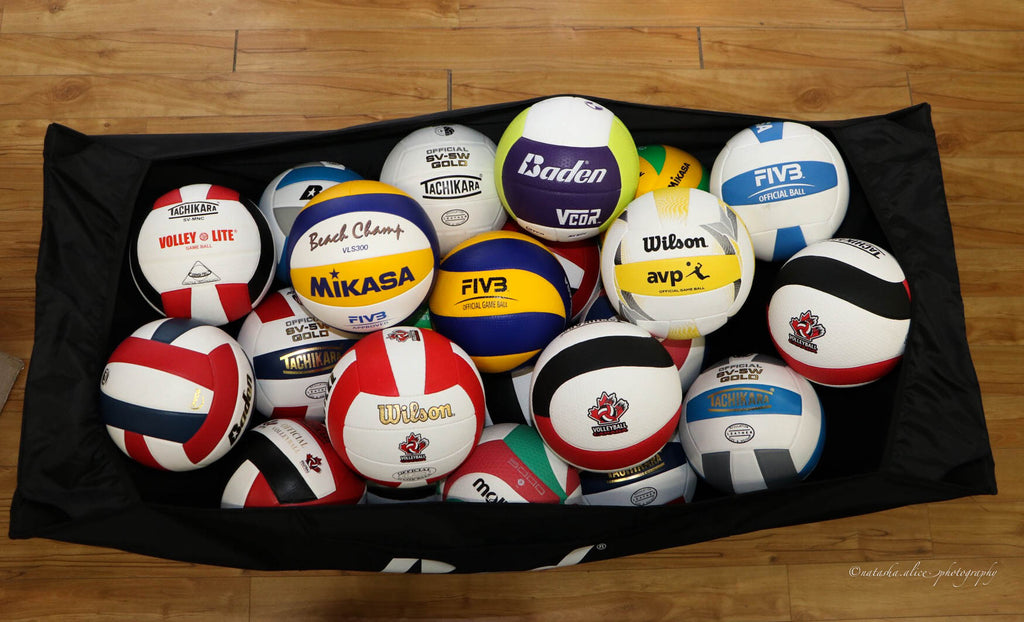 Our Guide to British Columbia's Official Volleyballs!