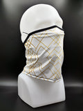 Athletic Mask - CS White Gold