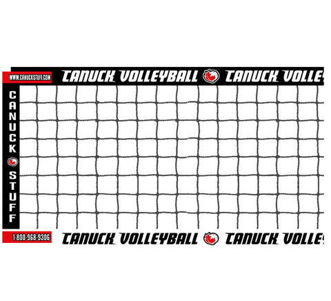 Canuck Volleyball Beach Volleyball Net