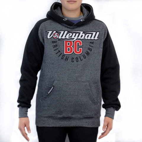 Volleyball BC 2-Toned Twill Hoodie