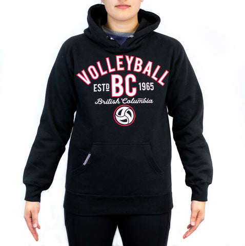 Volleyball BC 18 Twill Hoodie - Black