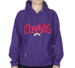 Overkill Cursive Stitched Hoodie