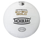 Tachikara SV5W Gold Leather Volleyball