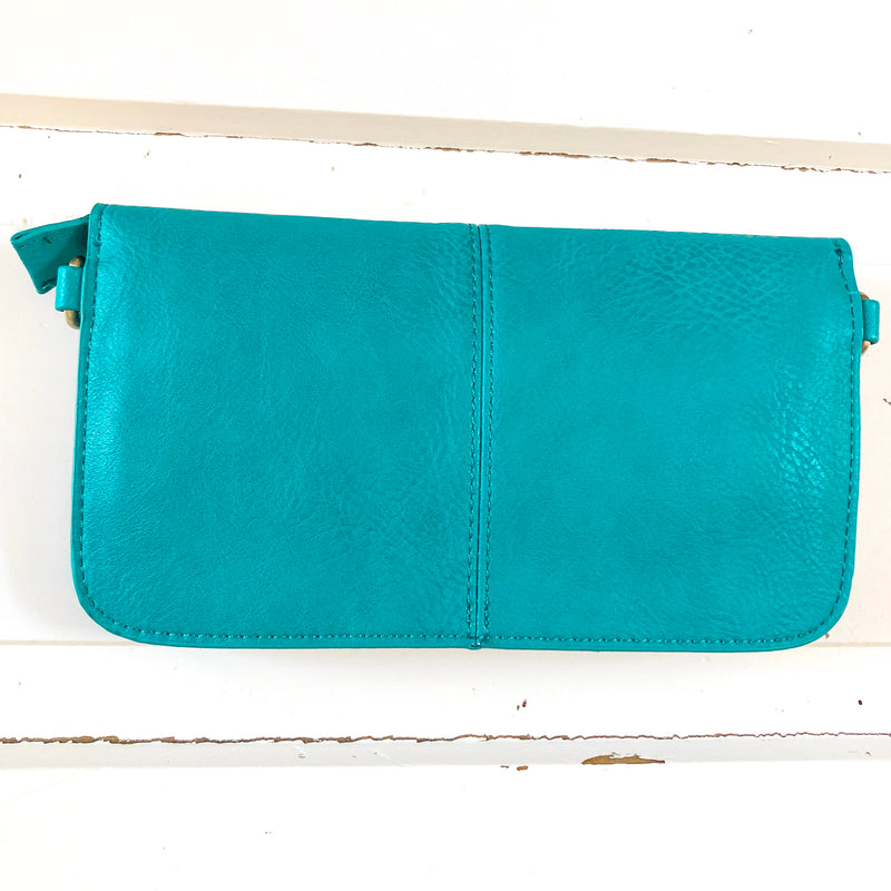 Multi Pocket Crossbody Clutch