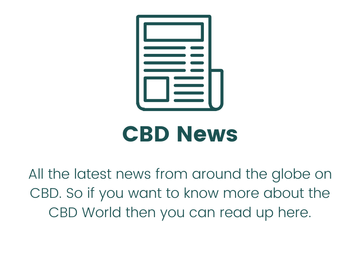 Image of a newspaper with the test CBD News