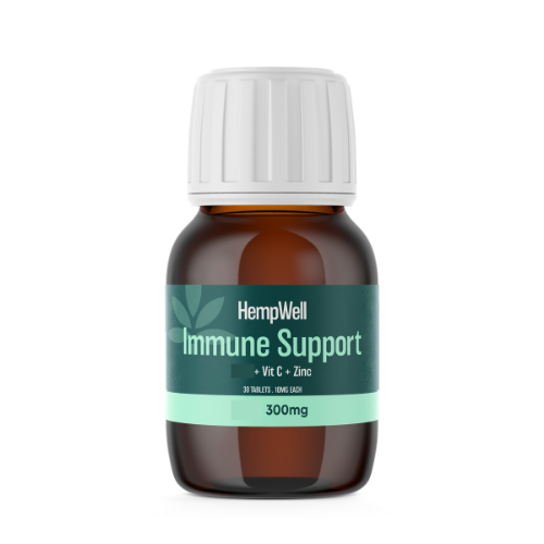 Image of immune support tablets