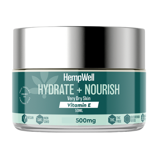 Image of hydrate and nourish face cream