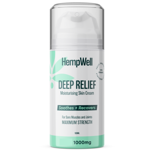 Image of deep relief cooling muscle cream