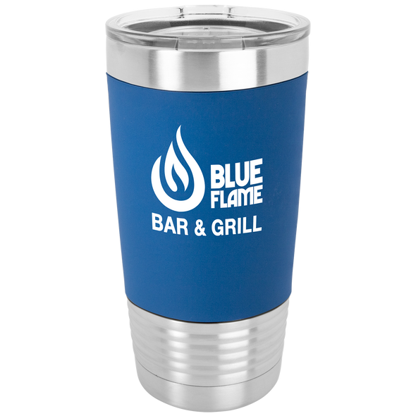 20 oz. Stainless Steel Cup with Silicone Grip