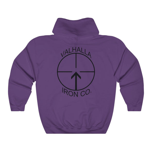American Flag Valhalla Iron Company Unisex Heavy Blend™ Hooded Sweatshirt