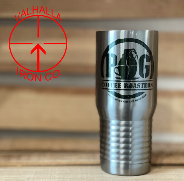 20 oz. Custom Color Design Stainless Steel Cup