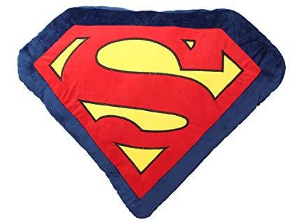 Cojín Logo Superman. Merchandising.