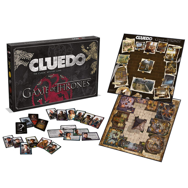 Cluedo Game of Thrones. Juego de Mesa. Oferta.
