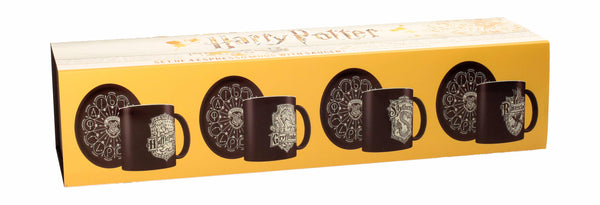 Set 4 tazas Harry Potter.