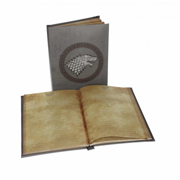 Libreta Luz Stark Game of Thrones. Merchandising.