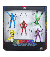 Figura Marvel Legends Deadpool (Pack 5 figuras). Oferta .