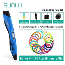 Load image into Gallery viewer, Best Seller SL-300 3D Pen For Children Explore Brains 3D Printing Pen With Non-toxic PLA Filament New Arrivals 3D Pen Set - Retfull