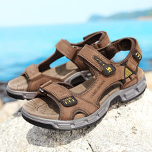 Load image into Gallery viewer, CAMEL High Quality Summer Soft Light  Comfortable Men sandals  Shoes Outdoor Beach Plus Big Size Casual Non-Slip shoe Man - Retfull