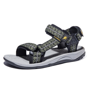 CAMEL High Quality Summer Soft Light  Comfortable Men sandals  Shoes Outdoor Beach Plus Big Size Casual Non-Slip shoe Man - Retfull