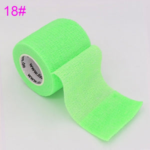 COYOCO Colorful Sport Self Adhesive Elastic Bandage Wrap Tape 4.5m Elastoplast For Knee Support Pads Finger Ankle Palm Shoulder - Retfull