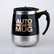 Load image into Gallery viewer, Auto Sterring Coffee mug Stainless Steel Magnetic Mug Cover Milk Mixing Mugs Electric Lazy Smart Shaker Coffee Cup and Mugs - Retfull