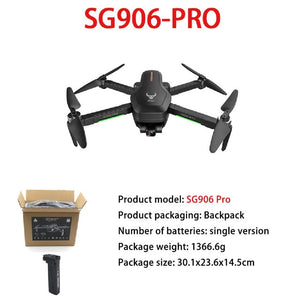 ZLRC SG906 Pro 5G WiFi FPV With GPS 4k Camera Drone profesional 2-axis Anti-shake Unmanned Aerial RC Quadcopter - Retfull