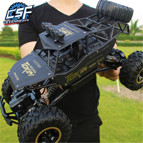 1:12 4WD RC Car Updated Version 2.4G Radio Control RC Car Toys  remote control car Trucks Off-Road Trucks boys Toys for Children - Retfull