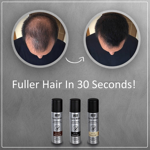Luis Bien Hair Thickener Keratin Hair Building Fibers Spray Thickening Hair Growth Anti Hair Loss 100 ML - Retfull