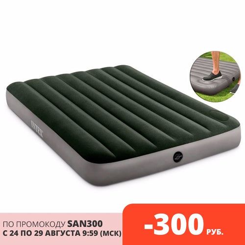 Inflatable mattress bed for home or tourism for swimming with pump for two - Retfull
