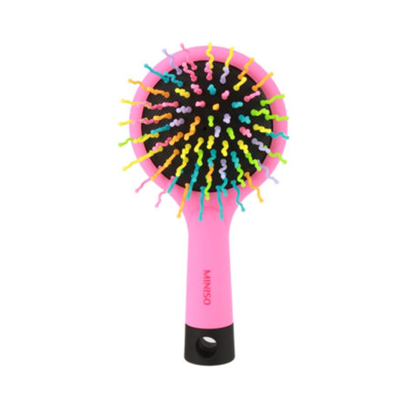 Rainbow Hair Brush With Mirror