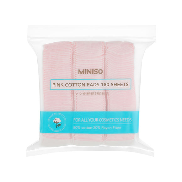 Pink Cotton Pads 180 count
