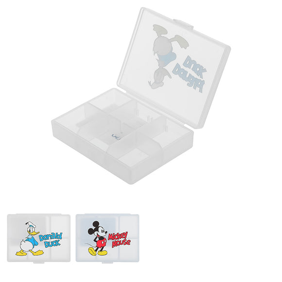 Mickey Mouse Collection 6-lattice Pill Box