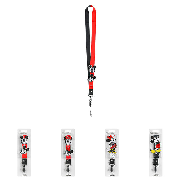 Mickey Mouse Collection Plush Phone Lanyard