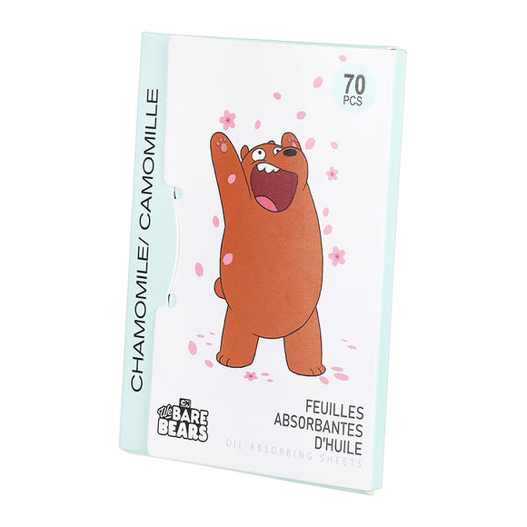 We Bare Bears Chamomile Oil Absorbing Sheets