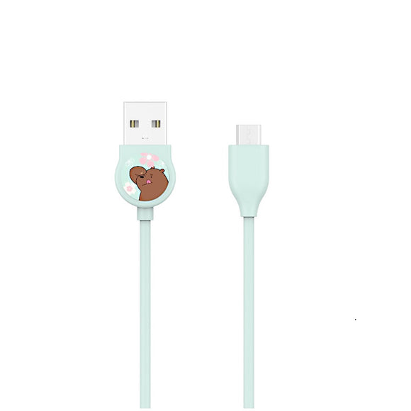 We Bare Bears Micro USB Data Cable