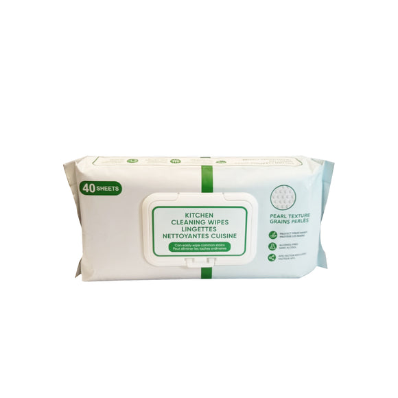 Kitchen Cleaning Wipes 40 Sheet