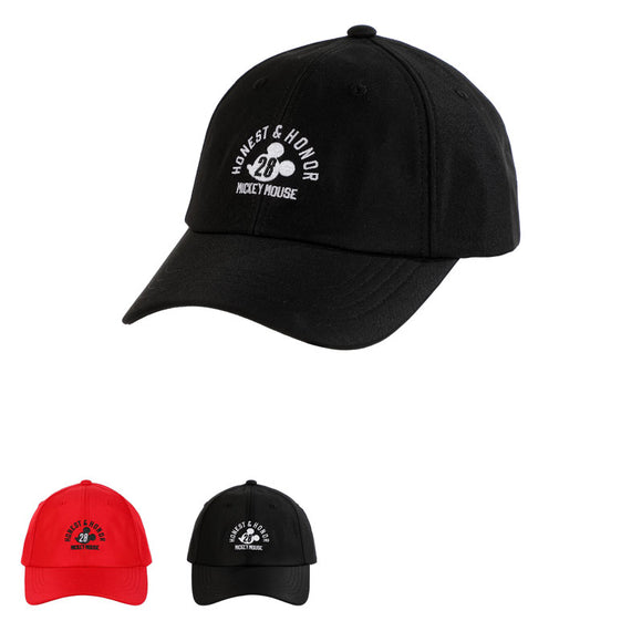 Mickey Mouse Collection Classic Logo Baseball Cap
