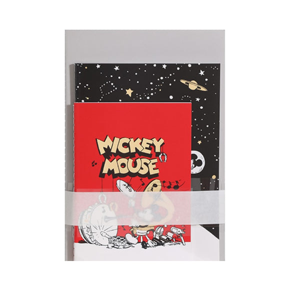 Mickey Mouse Collection Stitch-bound Book 24 Sheets (3PCS)