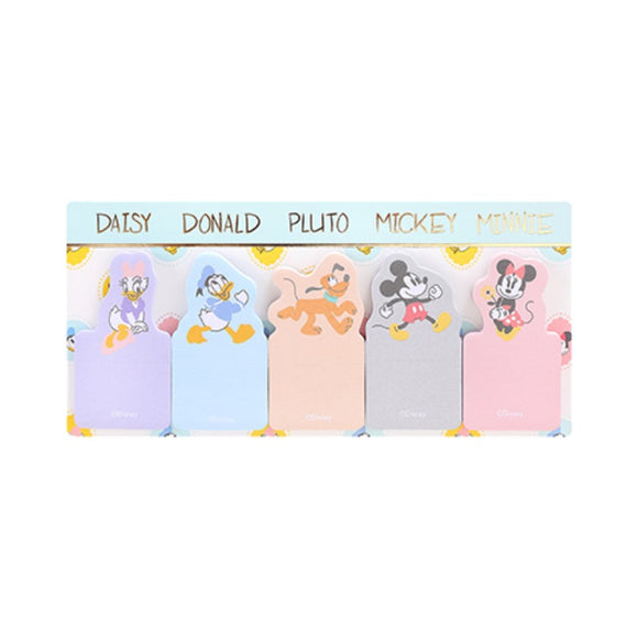 Mickey Mouse Collection Color Sticky Notes 30 Sheets