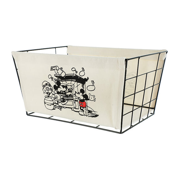 Mickey Mouse Collection Iron Storage Basket Large