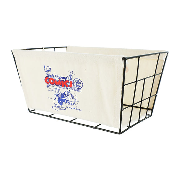Donald Duck Collection Iron Storage Basket Medium