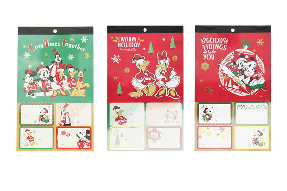 Mickey Mouse Collection Sticky Gift Tag