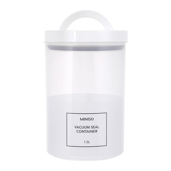 Simple Pp Vacuum Seal Container 1 5L