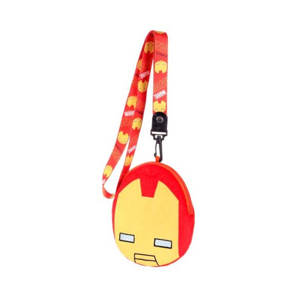 Marvel Plush Card Pouch Iron Man