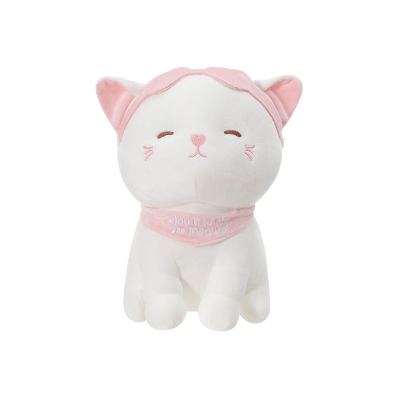 Kitten Plush Toy with Headband