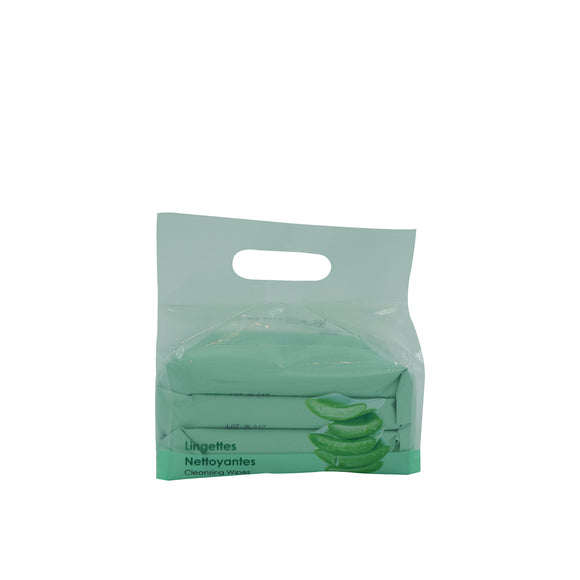Cleansing Wipes Aloe Vera 10 Sheets*3