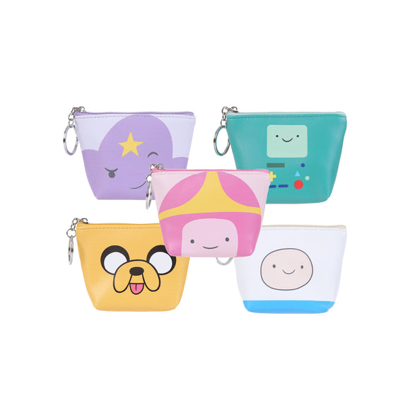Adventure Time Trapezoid Character Coin Purse