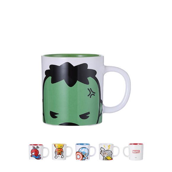 Marvel Kawaii White Mug