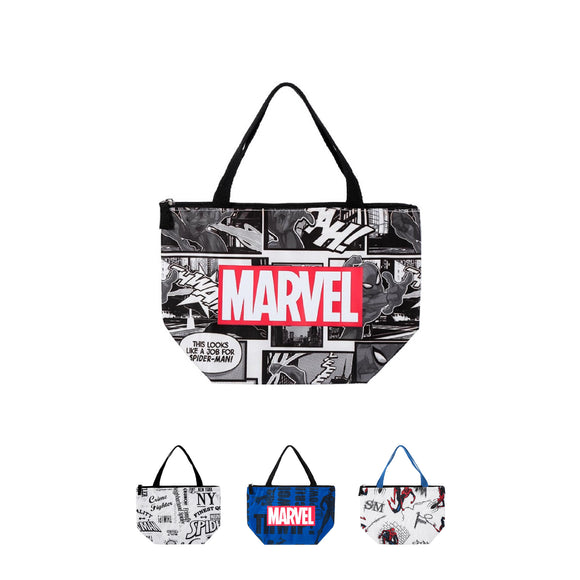 Marvel Lunch Bag Spiderman Black