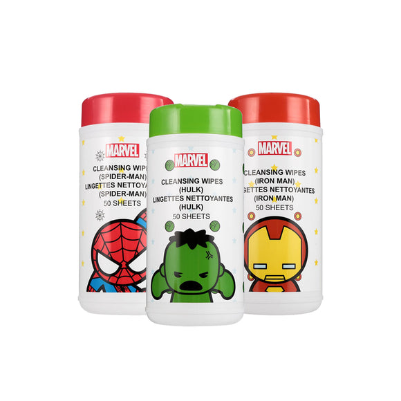 Marvel Cleansing Wipes